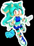 ::art trade:: Kira blue by AlexRockCat