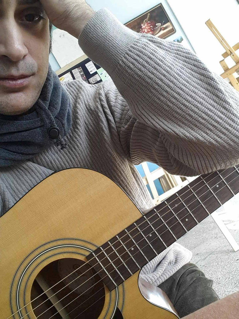 guitar by sekerusta