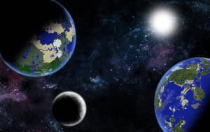 Dum Makes Planets: Renegade Minecraftia by dumskalle123
