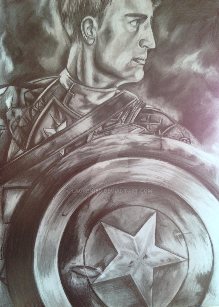 Captain America :The Winter Soldier by Lauren180