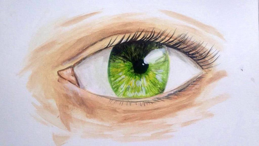 Green Eye by Lauren180