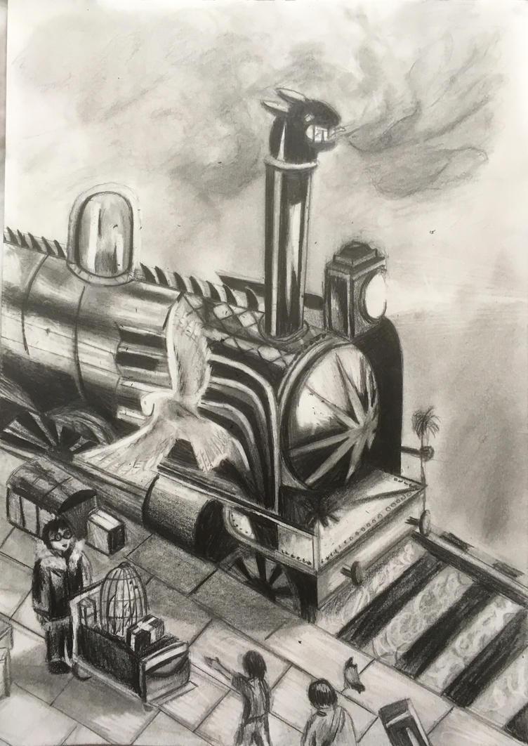 Hogwarts Express by Lauren180
