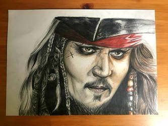 Captain Jack Sparrow by Lauren180