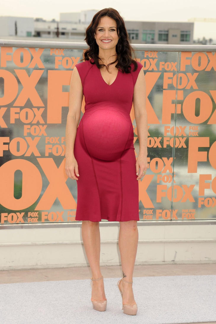 Pregnant Carla Gugino (Requested) by GrevilleaDawn