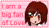 Love Fan Stamp by kumapastrychef