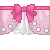 Pink Bow Divider by kumapastrychef