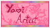 Yaoi Artist stamp (non-animated) by kumapastrychef