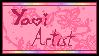 Yaoi Artist stamp (non-animated) by kumapastrychef