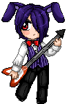 Bonnie and his Guitar by kumapastrychef