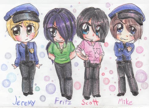 Jeremy, Fritz, Scott, and Mike.