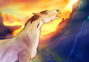 YCH horse by GRIM-GIT