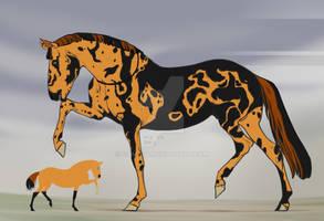 Adopt horse (OPEN) 5$ by GRIM-GIT