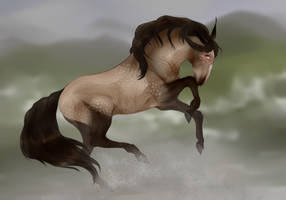 horse opiatum by GRIM-GIT