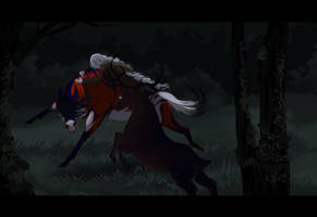 Chase and fall | TRIUN 3 by GRIM-GIT
