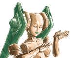 robot miku