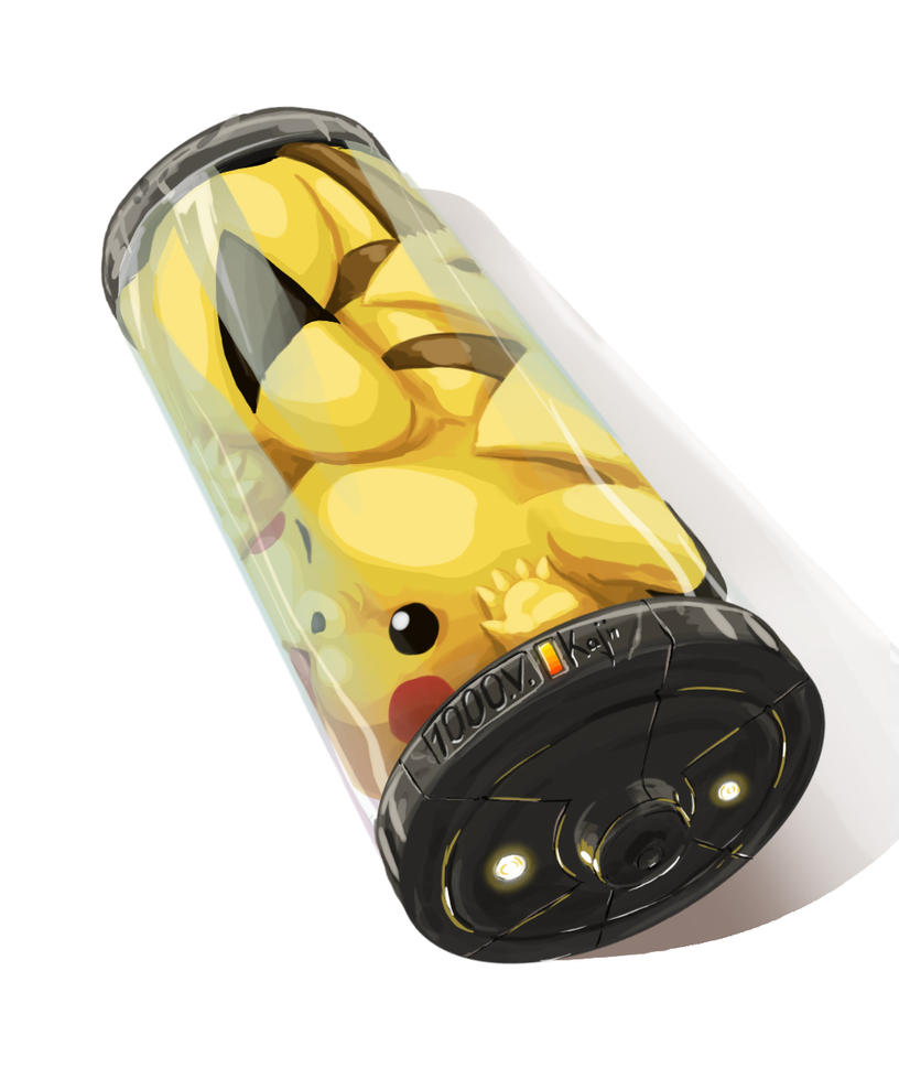 bateria pikachu by kajinman