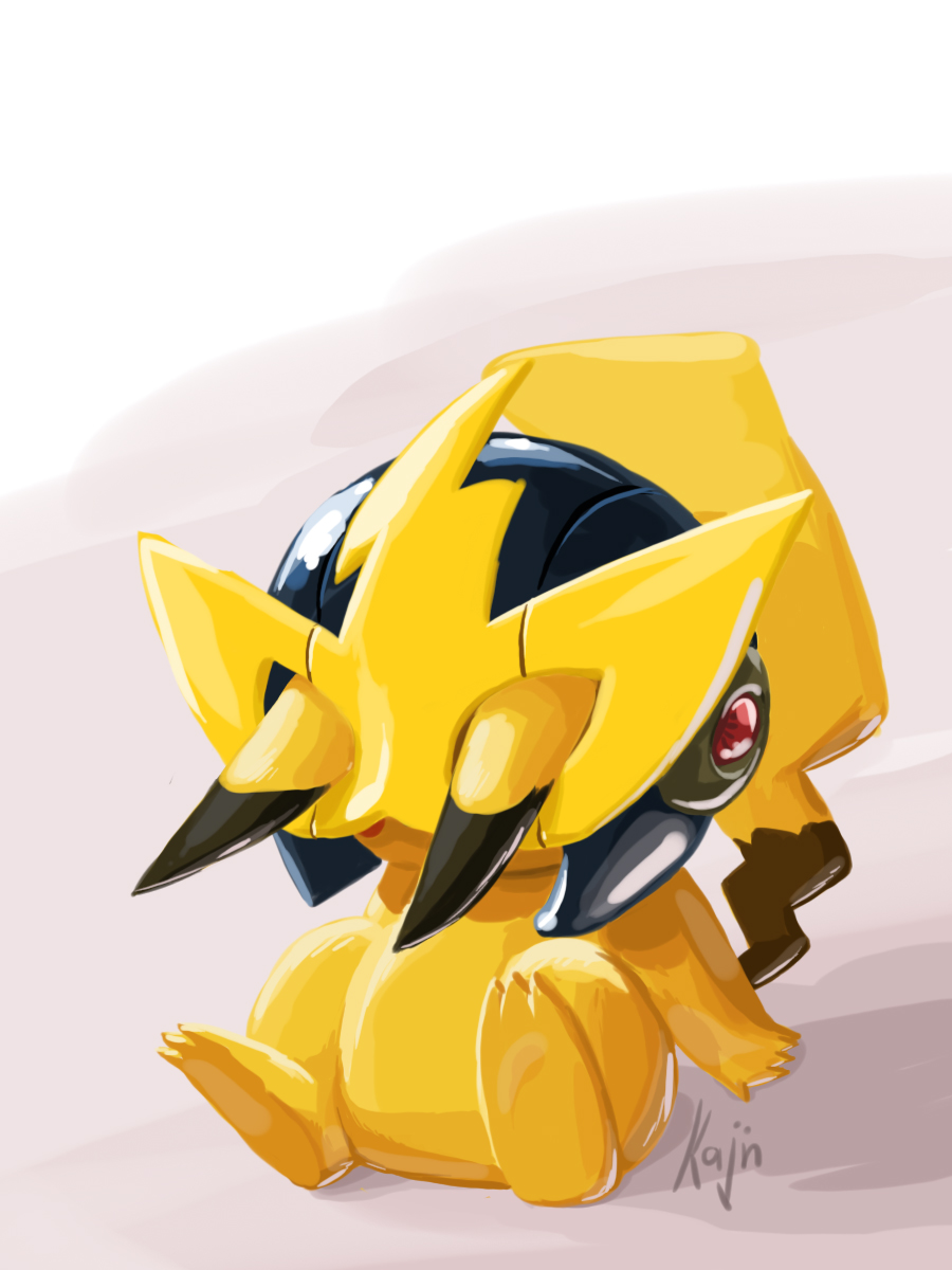 pikachu is elecman by kajinman