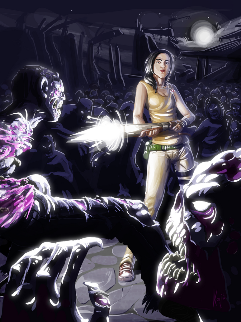 path of the zombies by kajinman