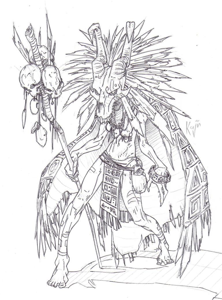 shaman 2 by kajinman