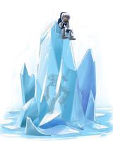 iceman's victory by kajinman