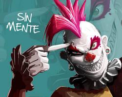 punk clown by kajinman