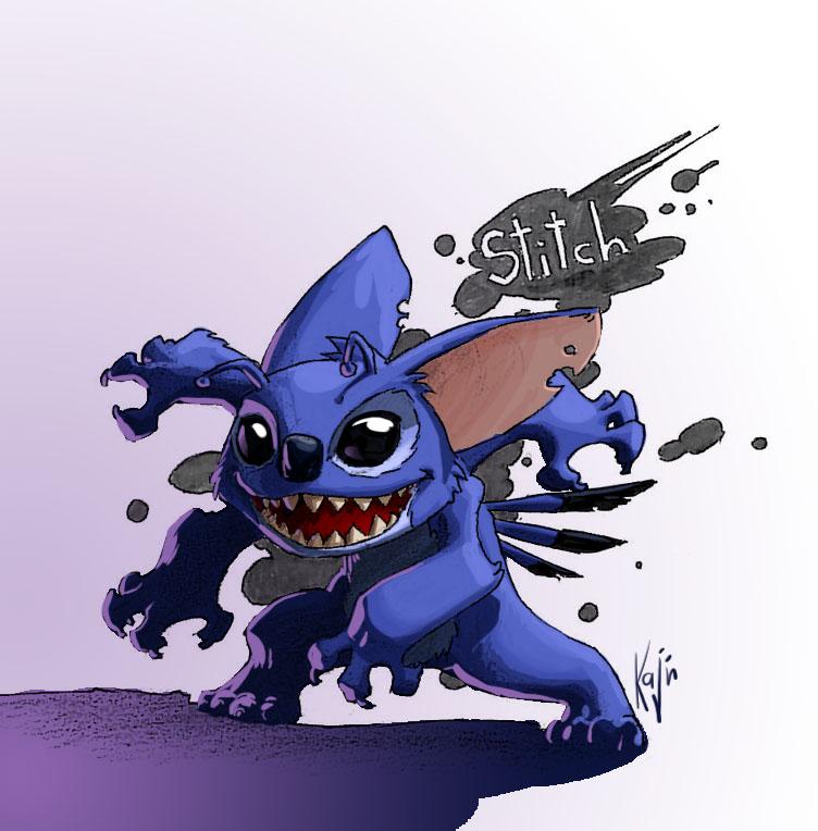 Stitch by kajinman