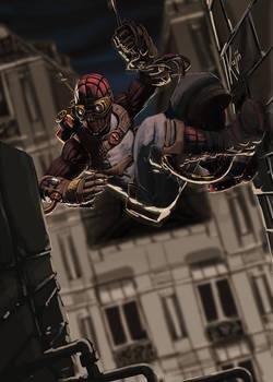 Spiderman steam punk