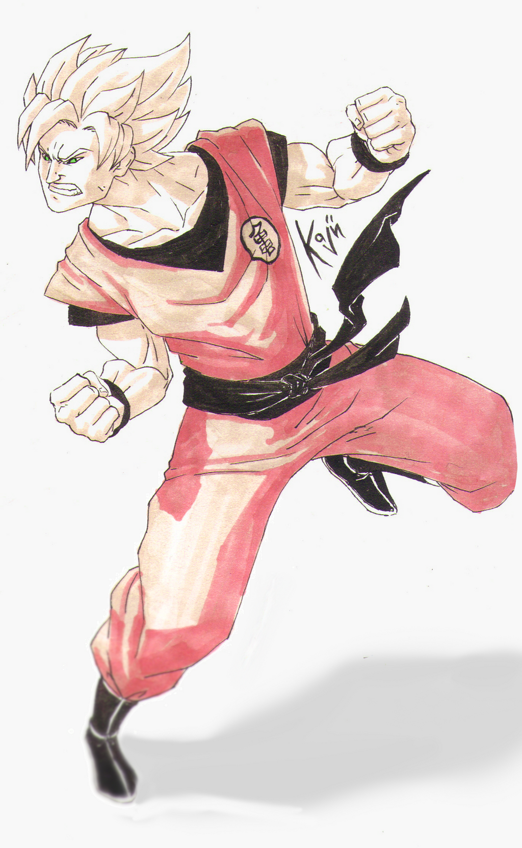 Son Goku by kajinman