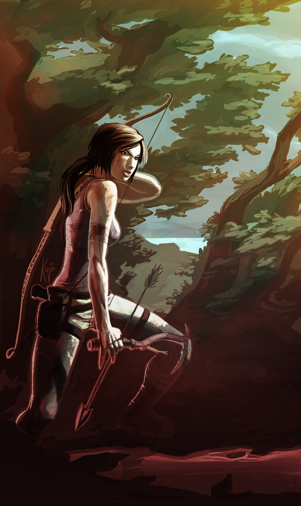 Tomb Raider by kajinman