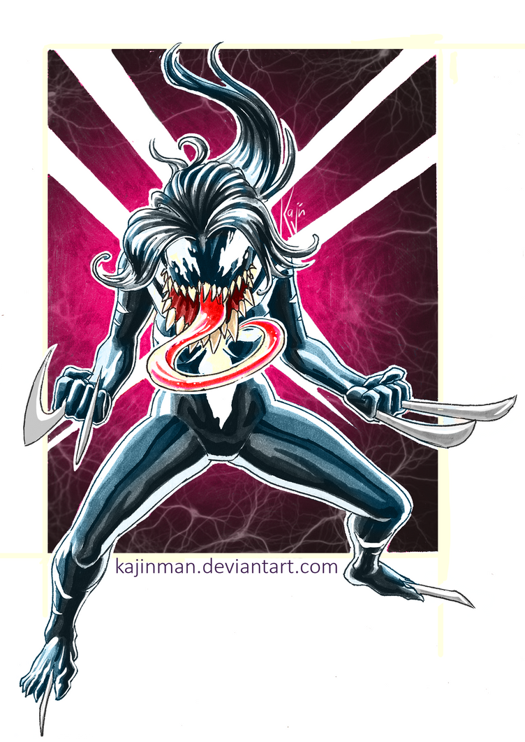 X23 venom by kajinman on DeviantArt X 23 Daken