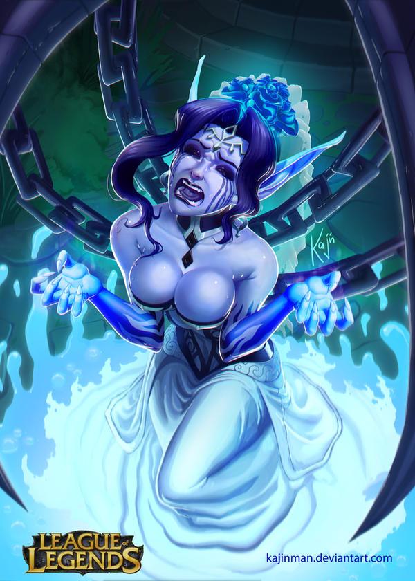 League of Legends: Morgana ghostbride by kajinman