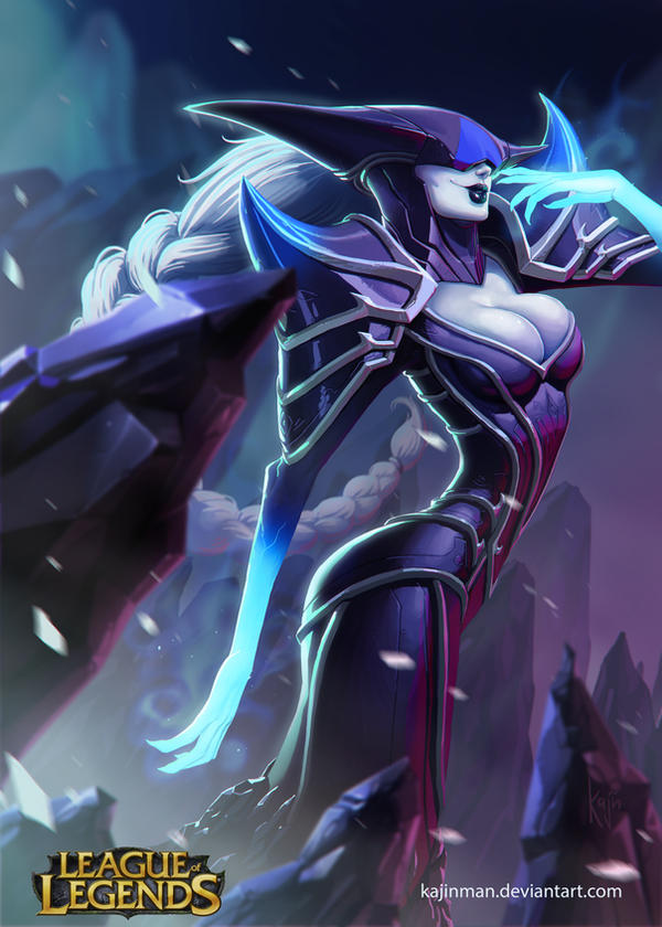League of Legends: Lissandra the sexy ice witch by ...
