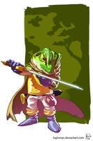 Chrono Trigger Frog Glenn by kajinman