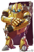 Chrono Trigger Robo by kajinman