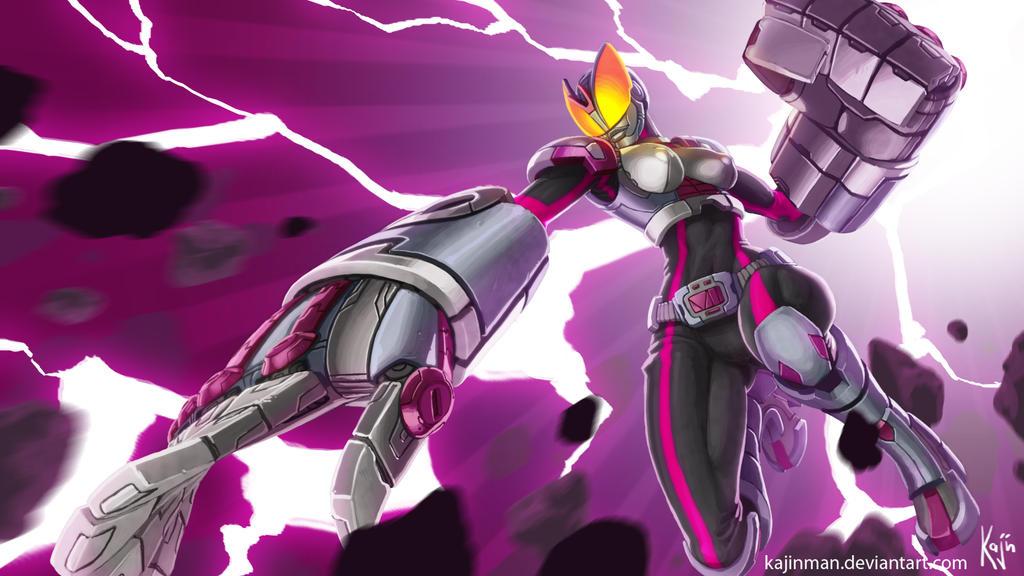 League of Legends: Kamen Rider VI by kajinman
