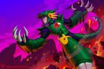 Drakon Man by kajinman