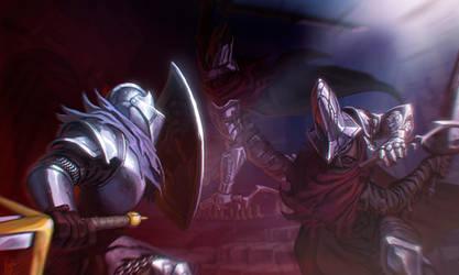 Dark souls III - Abyss Watchers