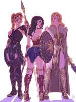 Wonder Women by kajinman