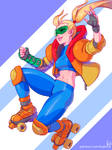Roller Samus by kajinman