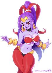 Risky the genie? by kajinman