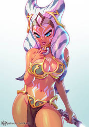 Ahsoka Bikini by kajinman