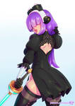 Layer cosplaying 2B by kajinman