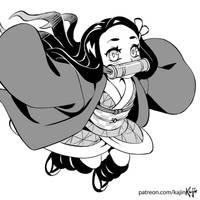 Nezuko is baby