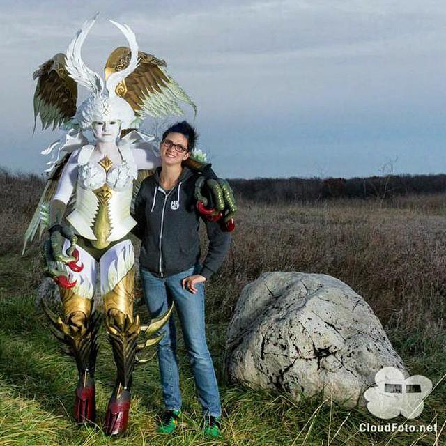 FFXIV Garuda Photoshoot by Egg-Sisters-Cosplay