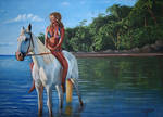 Marisa-Miller-and-Horse