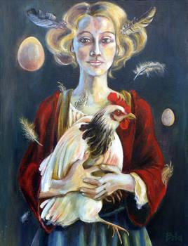 Catalina y los pollos