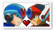 X x Axl Stamp