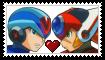 X x Axl Stamp by MidnightCrystalSage
