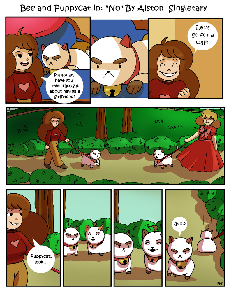 Bee and Puppycat Story by alston123