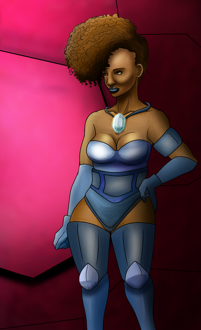 A Study of Natural African-American hair by alston123